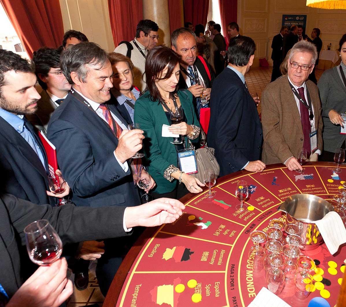 Casino interactivo y degustaciones del mundo 3